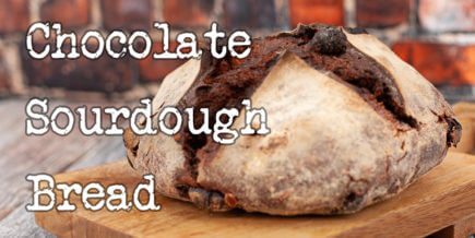 Chocolate Sourdough Bread recipe