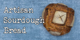Artisan Sourdough Bread - An easy recipe for crispy bread